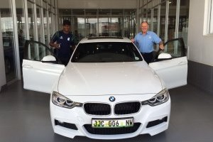 A BEAMER AS REWARD FOR MABENA