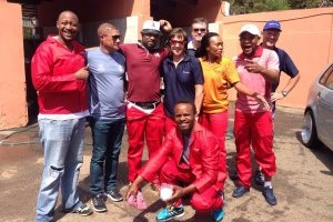 A SUCCESSFUL CHARITY CAR WASH FOR DIKWENA