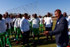 DIKWENA PLAYERS IN HIGH SPIRITS AS THEY RETURN FOR PRE-SEASON